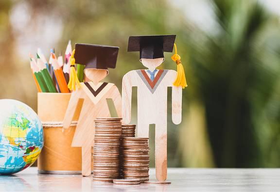 Darstellung von Finazierung im Studium
