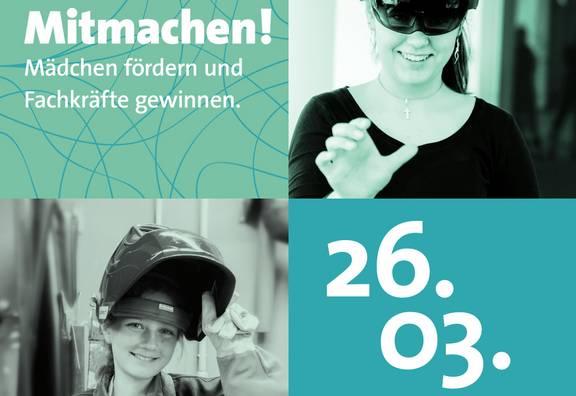 Girls'Day am 26.03.2020 - Sei dabei